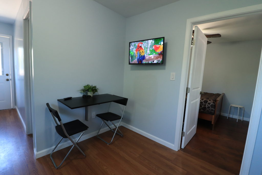 Airbnb Tiny House: airbnb living room tv