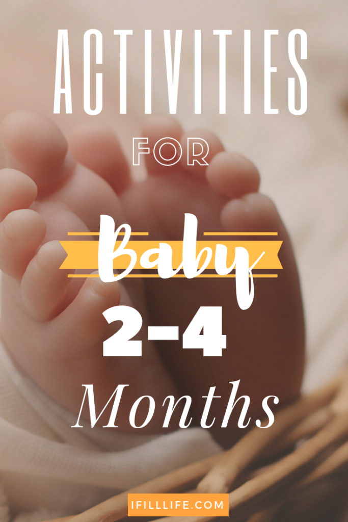 activities for baby 2-4 months