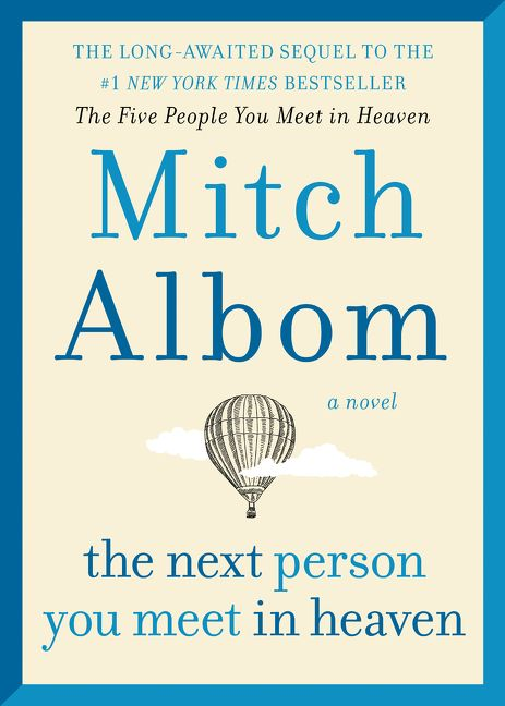 the next person you meet in heaven book cover