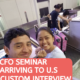 What's NEXT after K1 VISA Approval? CFO | ARRIVAL AT POINT OF ENTRY | CBP INTERVIEW