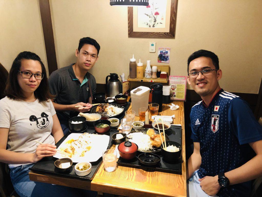 Eating Ramen in Japan