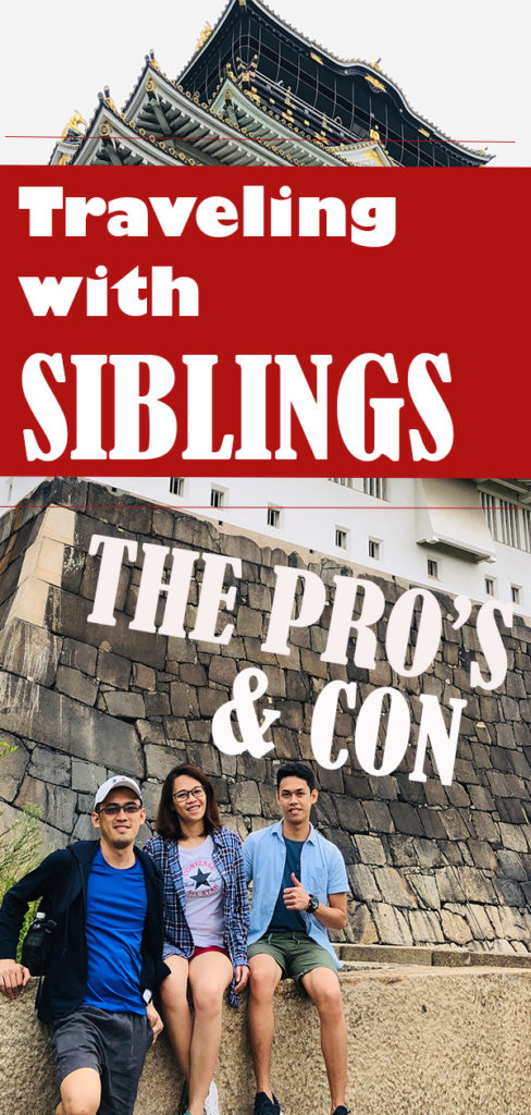 Traveling with siblings
