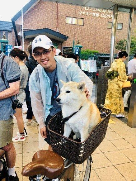 Shiba-Inu Dog in Japan